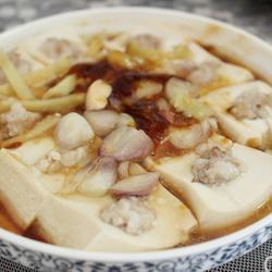 鲍鱼汁蒸豆腐的做法[图]