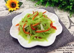 清炒莴苣丝