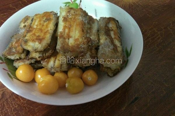 电饼铛烤带鱼