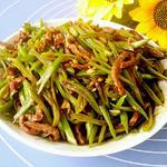 豆角炒肉丝的做法[图]