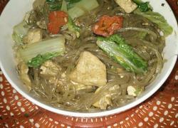 白菜炖粉条豆腐