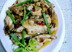 剁椒豆豉炒鱼片