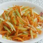 芹菜胡萝卜丝的做法[图]