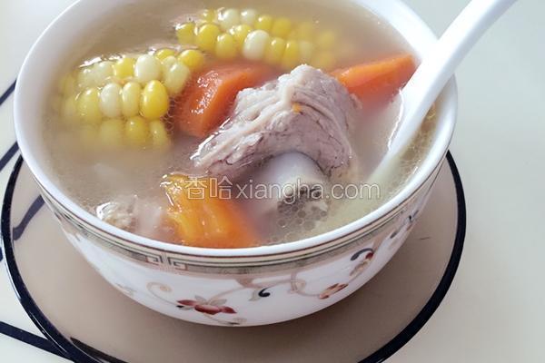 老火汤(扇骨玉米胡萝卜)