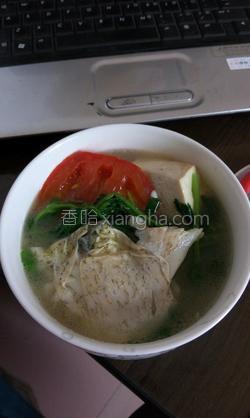 豆腐鱼汤的做法