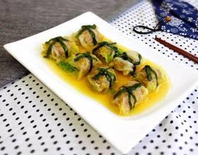 玉带白菜卷