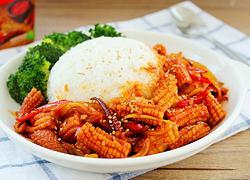 韩式鱿鱼盖饭