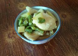 蔬菜面条汤