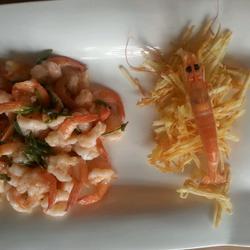 龙井凤尾虾