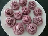 玫瑰花紫薯馒头的做法[图]