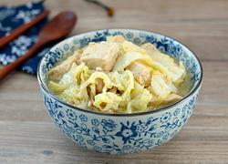 大白菜炖冻豆腐