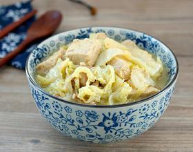 大白菜炖冻豆腐[图]