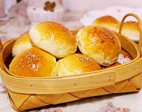 奶香豆沙小餐包