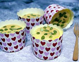 南瓜籽仁纸杯小蛋糕