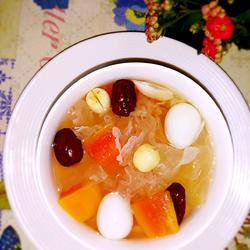 木瓜银耳糖水的做法[图]
