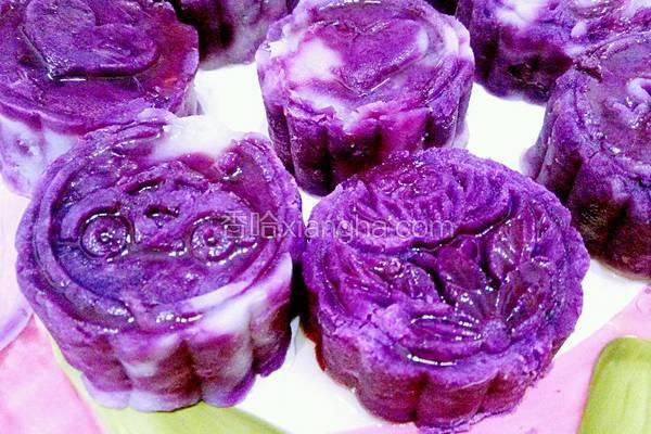 蜜恋紫薯山药泥