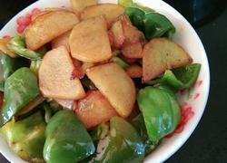 土豆片大辣椒