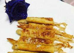 烧烤金针菇豆皮