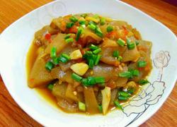 剁椒炒魔芋豆腐