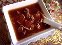 阿胶炖牛肉