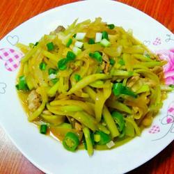 瓢瓜炒瘦肉