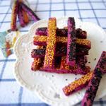 紫薯饼干棒的彩票做法[图]