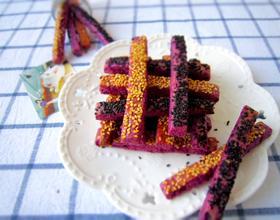 紫薯饼干棒