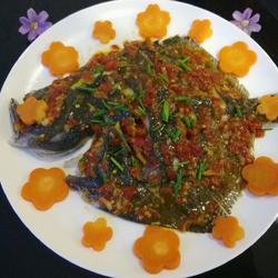剁椒多宝鱼的做法[图]