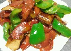 红萝卜炒豆干