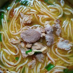 羊肉汤米线