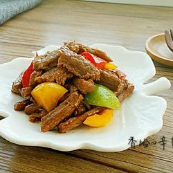彩椒炒牛肉的做法[图]