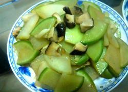 香菇炒萝卜
