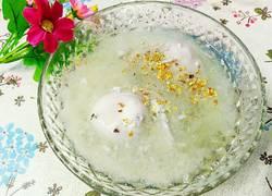 桂花酒酿水潽蛋