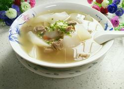 羊肉炖萝卜汤