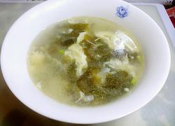 紫菜虾米鸡蛋汤