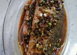 蒜蓉豆豉蒸鲮鱼
