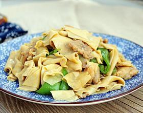 尖椒干豆腐[图]