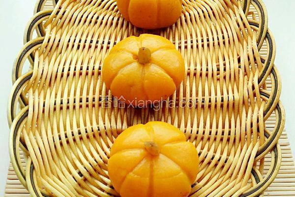 南瓜糯米团