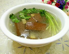 鸭血粉丝汤