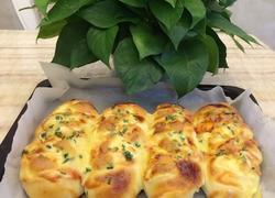 葱花芝士面包