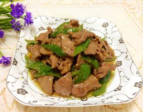 青椒炒牛肉[图]