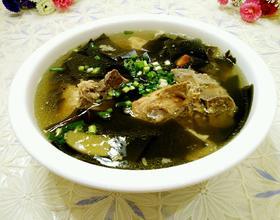 龙骨海带汤