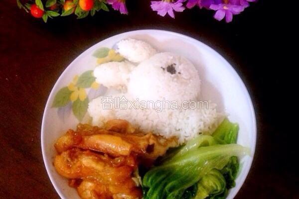 鸡肉创意餐