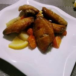 柠檬香烤鸡翅