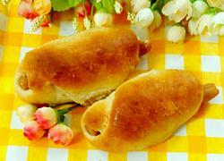 火腿面包卷