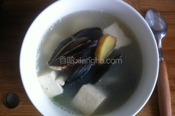 淡菜豆腐汤