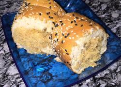 芝麻肉松蛋糕卷!
