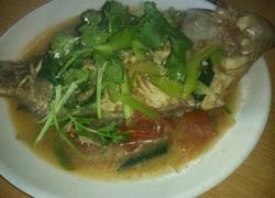 半煮红福寿鱼