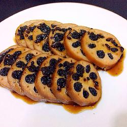 养生紫米藕
