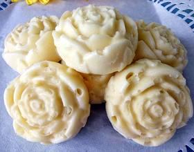 玫瑰花蒸蛋糕
